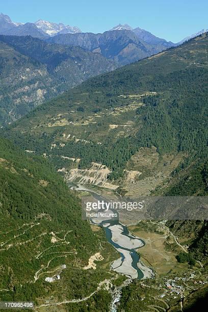 Zemithang Valley in Arunachal Pradesh India
