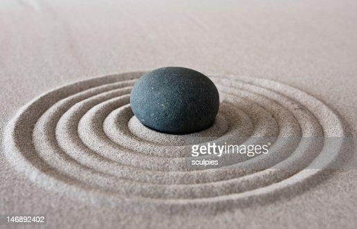 zen circle : Stock Photo