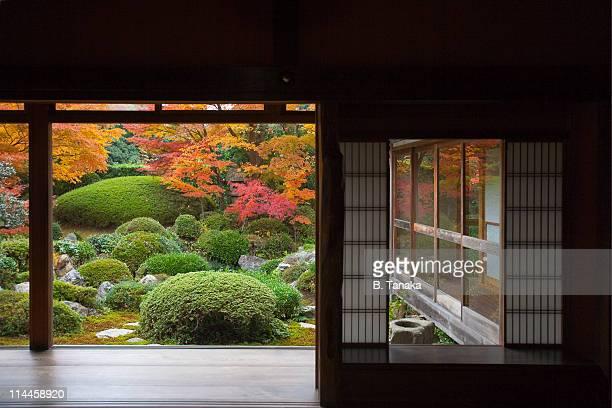 Zen Garden at Kyoto's Genko-an Temple
