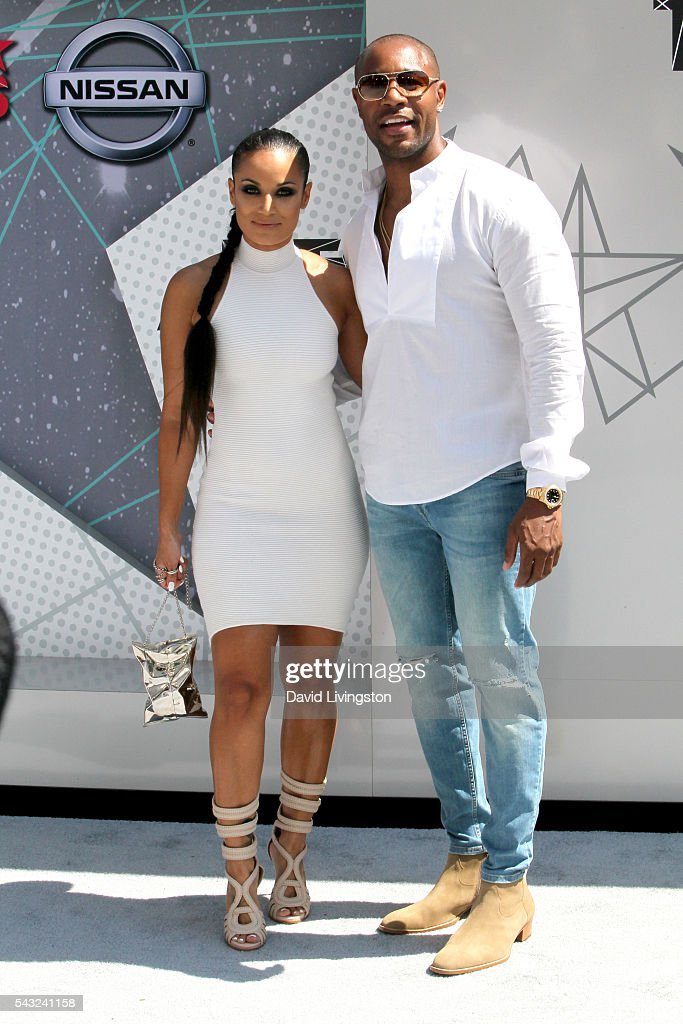 <a gi-track='captionPersonalityLinkClicked' href=/galleries/search?phrase=Zena+Foster&family=editorial&specificpeople=4204117 ng-click='$event.stopPropagation()'>Zena Foster</a> (L) and recording artist Tank Foster attend the 2016 BET Awards at Microsoft Theater on June 26, 2016 in Los Angeles, California.