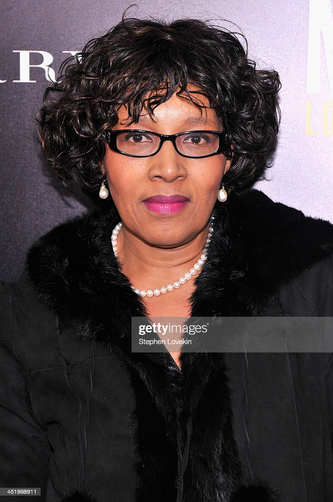 Zenani Mandela attends 'Mandela: Long Walk To Freedom' screening hosted by U2, Anna Wintour, Bob and Harvey Weinstein with Burberry at Ziegfeld Theater on November 25, 2013 in New York City.