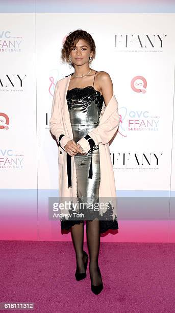 Zendaya attends 'FFANY Shoes On Sale' hosted by QVC on October 25 2016 in New York City