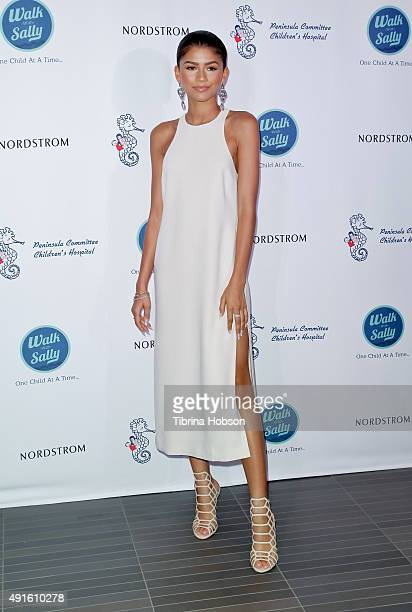 Zendaya attends Nordstrom Del Amo Fashion Center's Opening Gala at Nordstrom Del Amo Fashion Center on October 6 2015 in Torrance California