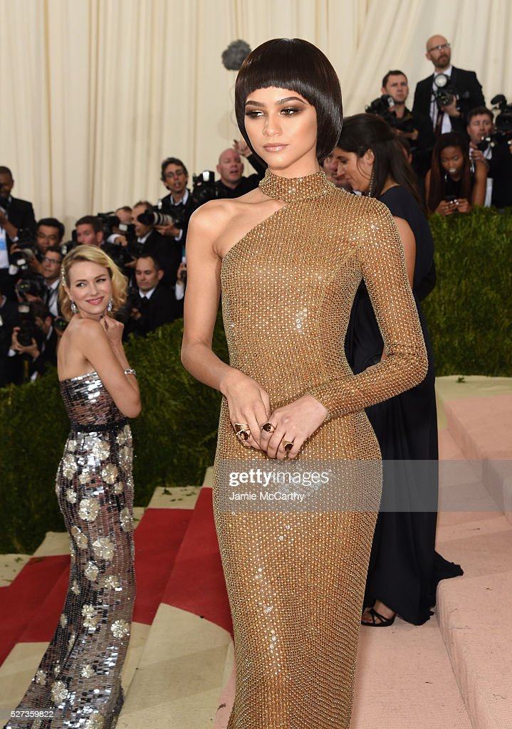 Zendaya attends the 'Manus x Machina: Fashion In An Age Of Technology' Costume Institute Gala at Metropolitan Museum of Art on May 2, 2016 in New York City.