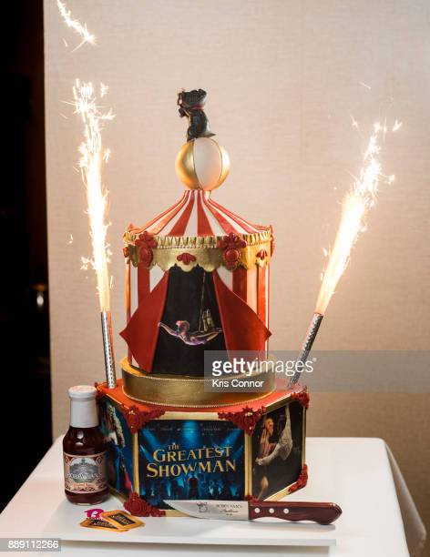 Zendaya Cake by BCakes NY for Bobby Van's CPS at Bobby Van's CPS on December 9 2017 in New York City
