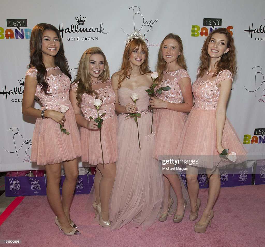 Hallmark Gold Crown And Text Bands Celebrates Bella Thorne ...