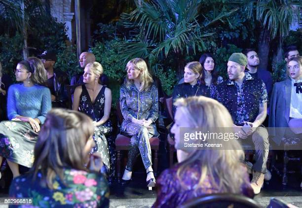 Zendaya Kate Bosworth Kirsten Dunst Kate Mara and Johnny Wujekat at HM x ERDEM Runway Show Party at The Ebell Club of Los Angeles on October 18 2017...