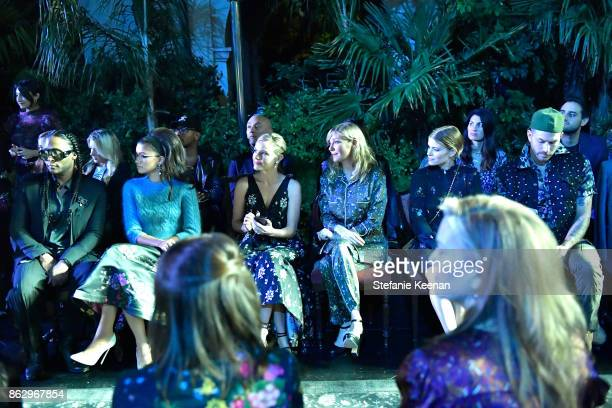 R Zendaya Kate Bosworth Kirsten Dunst Kate Mara and Johnny Wujekat at HM x ERDEM Runway Show Party at The Ebell Club of Los Angeles on October 18...