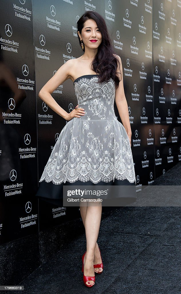 Zeng Li attends 2014 Mercedes-Benz Fashion Week during day 1 on September 5, 2013 in New York City.