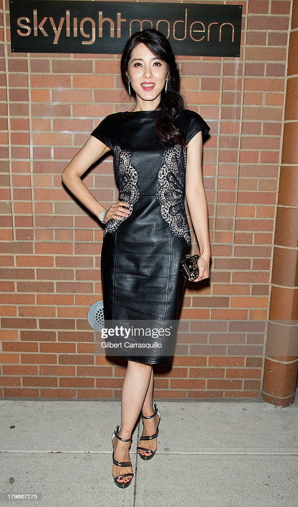 Zeng Li attends Style Network's 'Style To Rock' Event at Skylight Modern on September 5, 2013 in New York City.