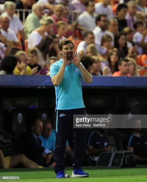 Zenit Saint Petersburg head coach Andre VillasBoas