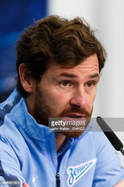 Zenit Saint Petersburg's coach Andre Villas Boas