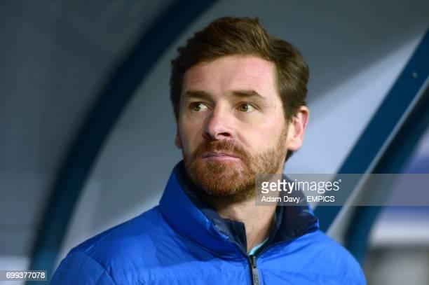 Zenit Saint Petersburg's Coach Andre VillasBoas