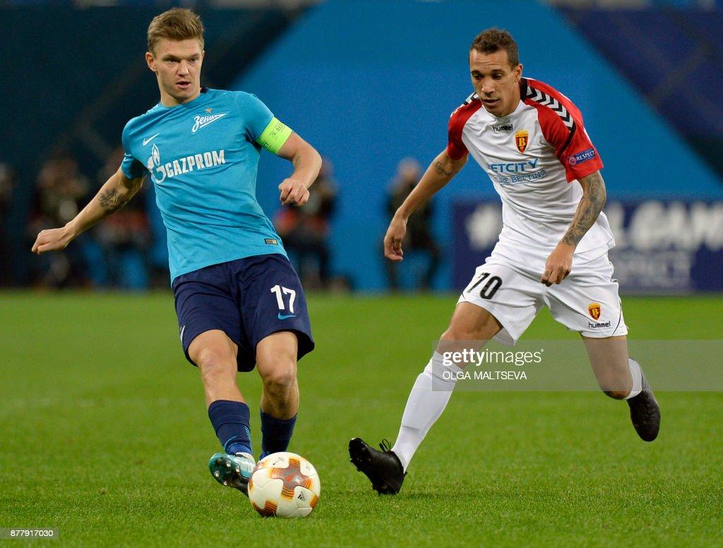 Zenit St. Petersburg v Vardar Skopje - UEFA Europa League