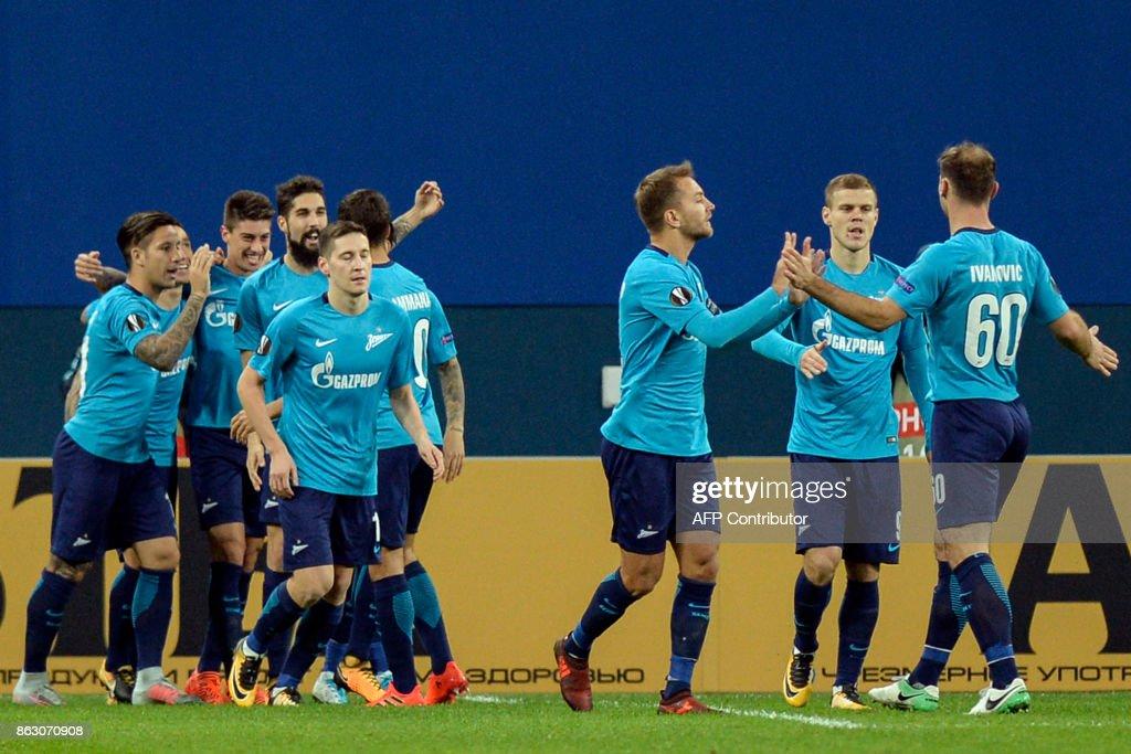 Zenit St. Petersburg v Rosenborg BK - UEFA Europa League