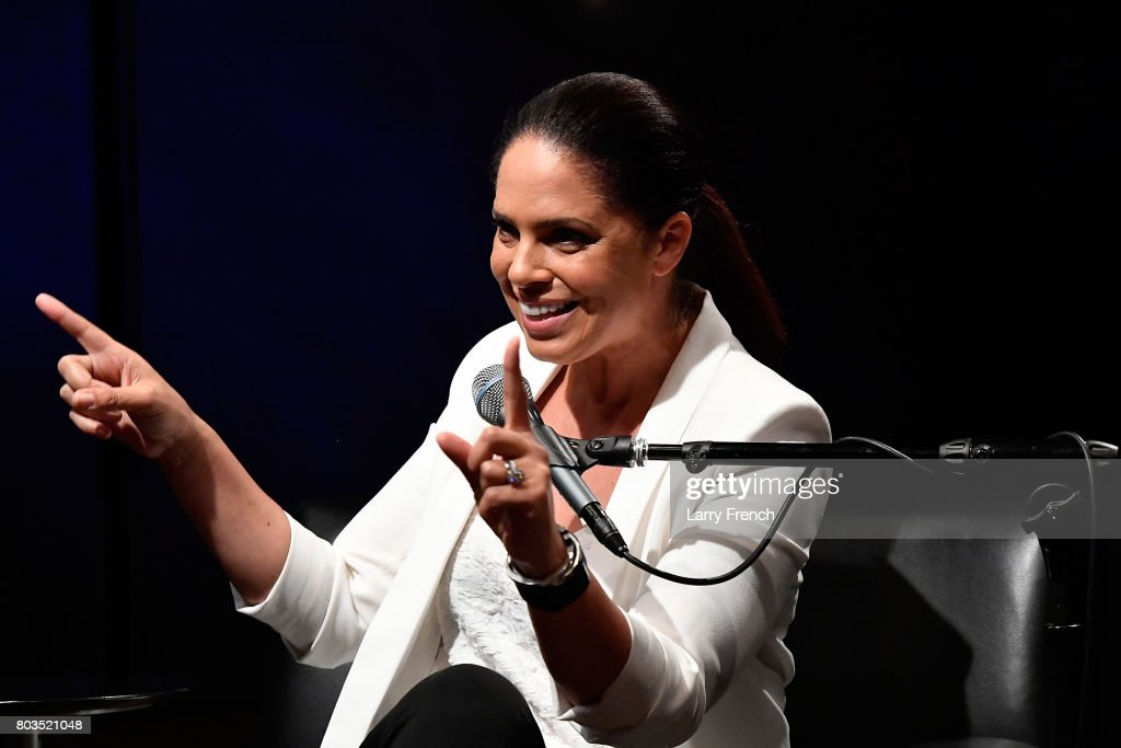 """Soledad O'Brien Talks With Host Zerlina Maxwell During A SiriusXM """"Leading Ladies"""" Event In Washington, D.C."""