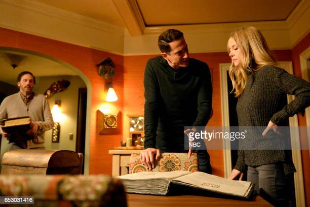 GRIMM 'Zerstorer Shrugged' Episode 612 Pictured Sasha Roiz as Sean Renard Claire Coffee as Adalind Schade