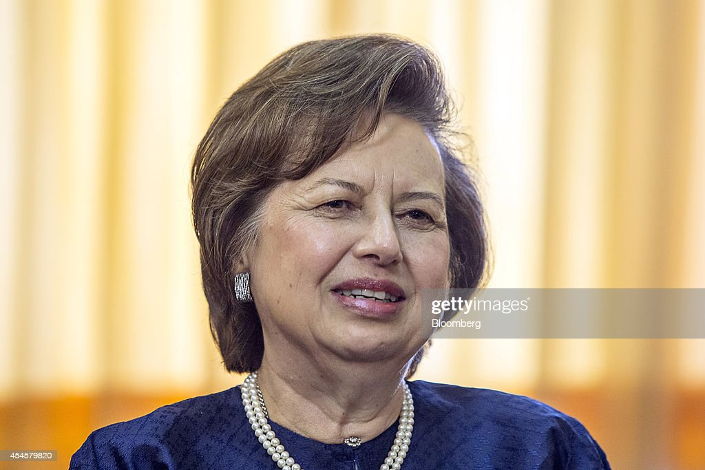 Zeti Akhtar Aziz governor of the Bank Negara Malaysia speaks during an interview at the central bank headquarters in Kuala Lumpur Malaysia on...