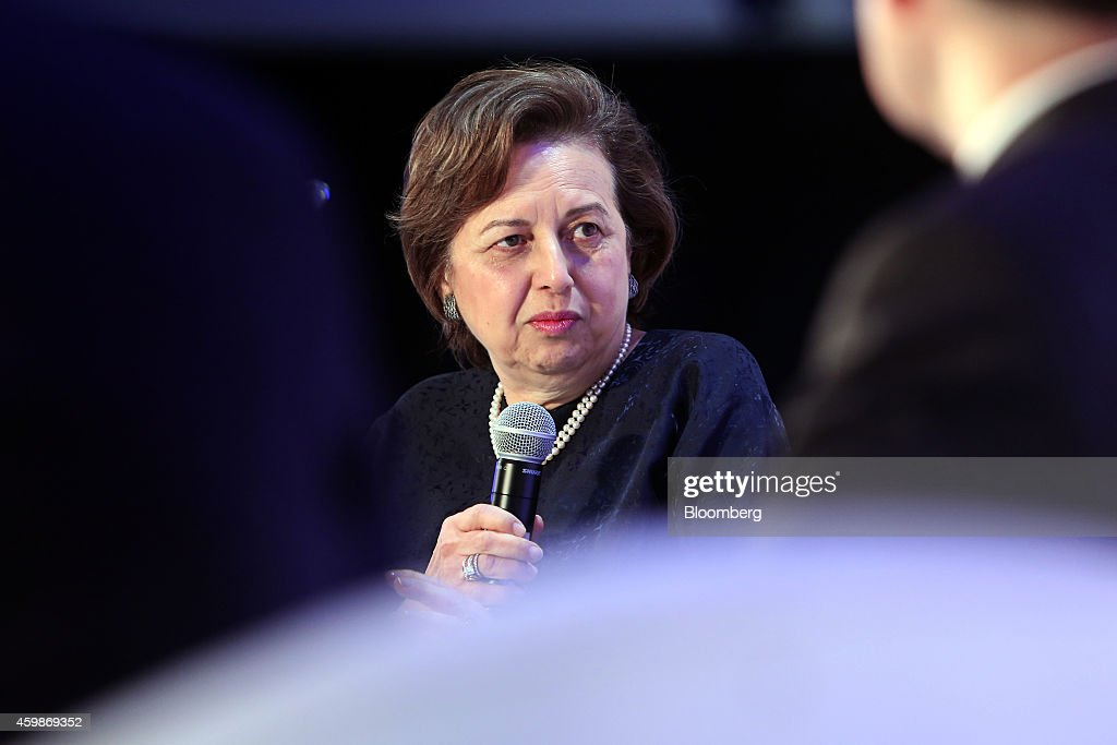 Zeti Akhtar Aziz governor of the Bank Negara Malaysia speaks during the Bloomberg Asean Business Summit in Bangkok Thailand on Wednesday Dec 3 2014...