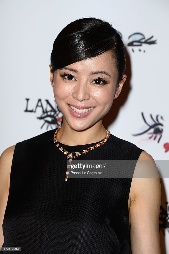 <a gi-track='captionPersonalityLinkClicked' href=/galleries/search?phrase=Zhang+Jingchu&family=editorial&specificpeople=242993 ng-click='$event.stopPropagation()'>Zhang Jingchu</a> attends the 'Lancome Show By Alber Elbaz' Party at Le Trianon on July 2, 2013 in Paris, France.