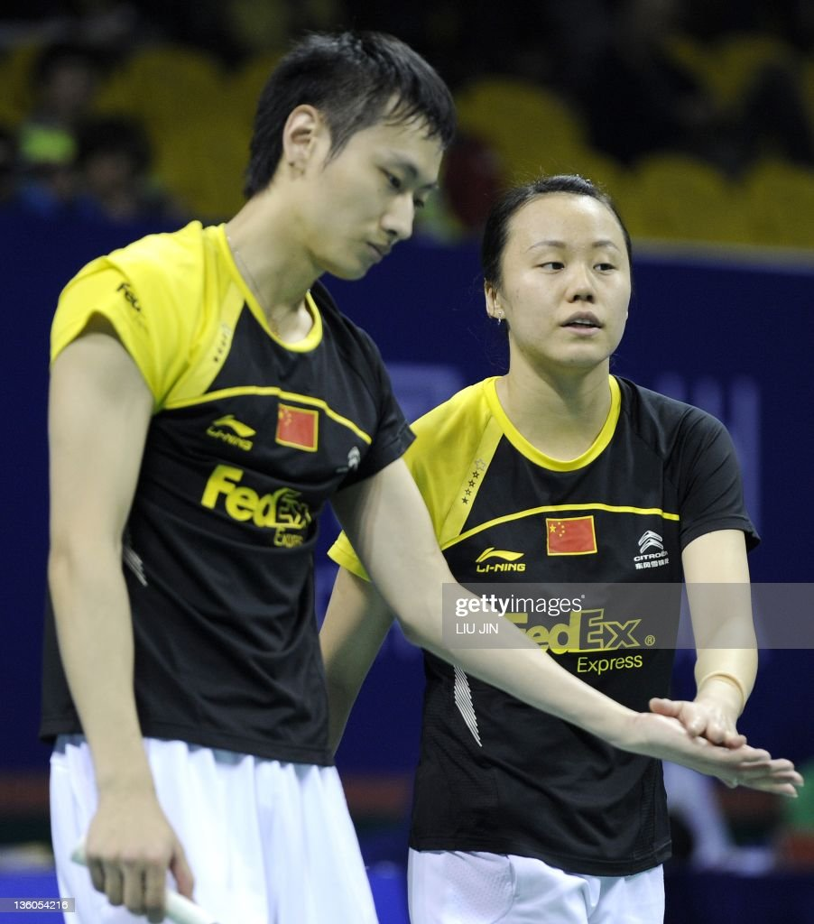 Zhang Nan L and Zhao Yunlei R of Chi