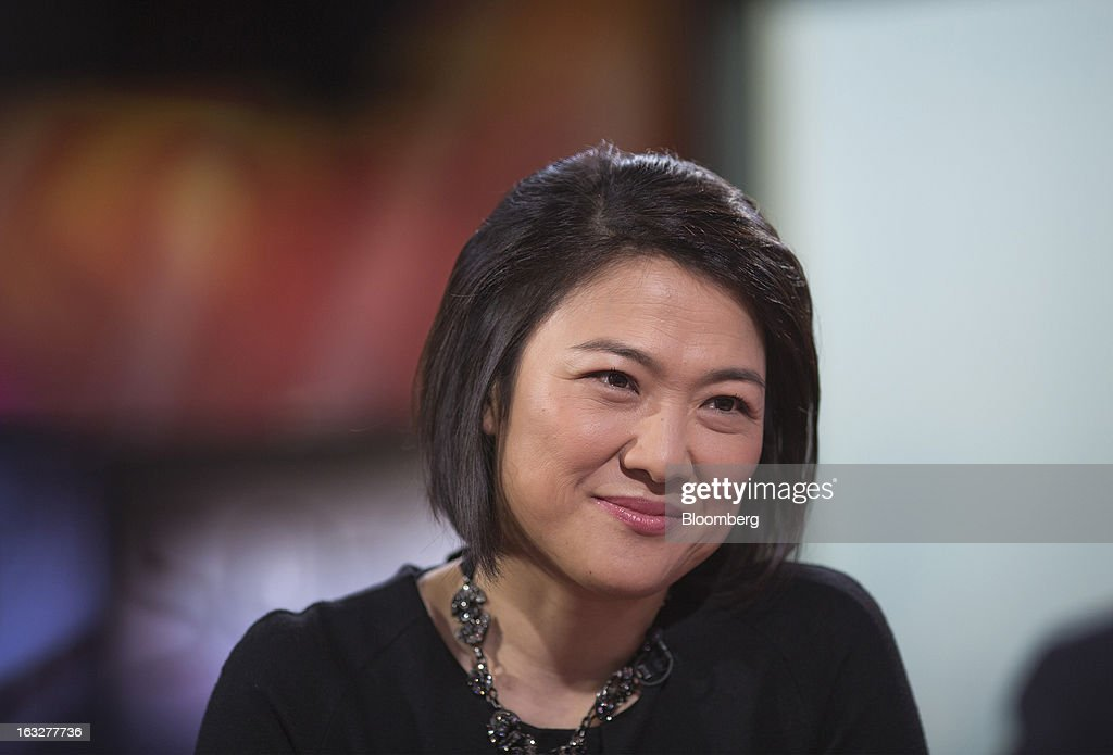 Zhang Xin, chief executive officer of Soho China Ltd., pauses during an interview in Hong Kong, China, on Thursday, March 7, 2013. Soho China, the biggest developer in Beijing's central business district, plans to accelerate land and project acquisitions this year as it shifts toward being a landlord from focusing on selling properties. Photographer: Jerome Favre/Bloomberg via Getty Images