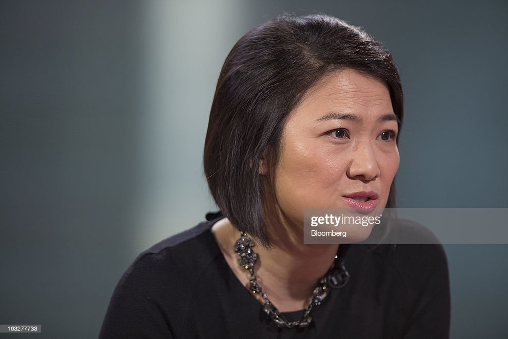 Zhang Xin, chief executive officer of Soho China Ltd., speaks during an interview in Hong Kong, China, on Thursday, March 7, 2013. Soho China, the biggest developer in Beijing's central business district, plans to accelerate land and project acquisitions this year as it shifts toward being a landlord from focusing on selling properties. Photographer: Jerome Favre/Bloomberg via Getty Images