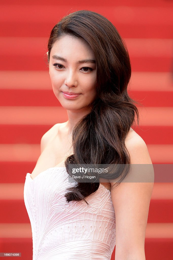 <a gi-track='captionPersonalityLinkClicked' href=/galleries/search?phrase=Zhang+Yuqi&family=editorial&specificpeople=4891968 ng-click='$event.stopPropagation()'>Zhang Yuqi</a> attends 'Inside Llewyn Davis' Premiere during the 66th Annual Cannes Film Festival at Palais des Festivals on May 19, 2013 in Cannes, France.
