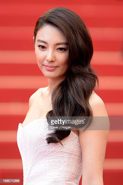 Zhang Yuqi attends 'Inside Llewyn Davis' Premiere during the 66th Annual Cannes Film Festival at Palais des Festivals on May 19 2013 in Cannes France