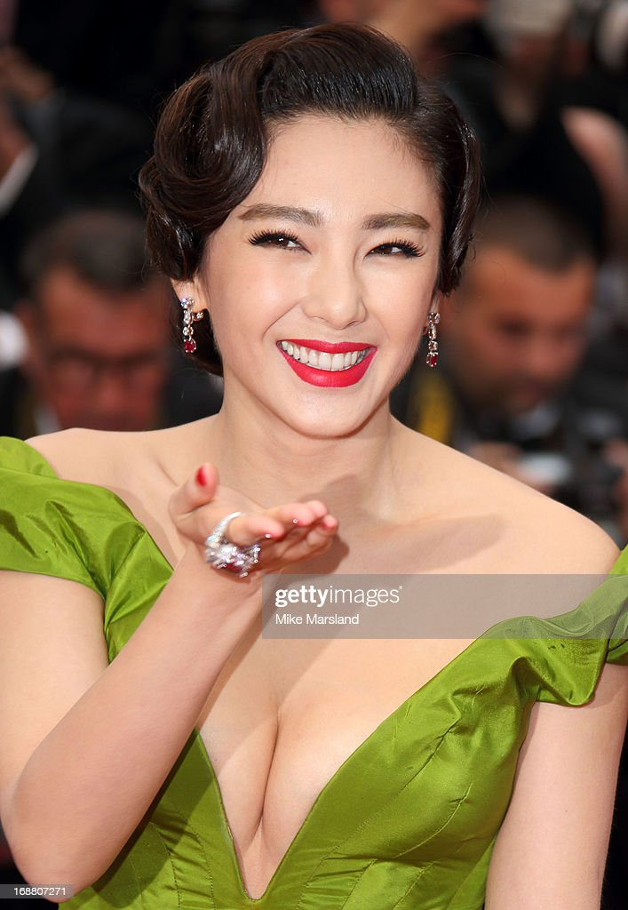 Zhang Yuqi attends the Opening Ceremony and Premiere of 'The Great Gatsby' at The 66th Annual Cannes Film Festival at Palais des Festivals on May 15, 2013 in Cannes, France.