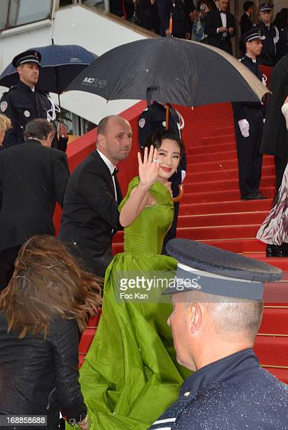 Zhang Yuqi attends the Opening Ceremony and Premiere of 'The Great Gatsby' at The 66th Annual Cannes Film Festival at Palais des Festivals on May 15...
