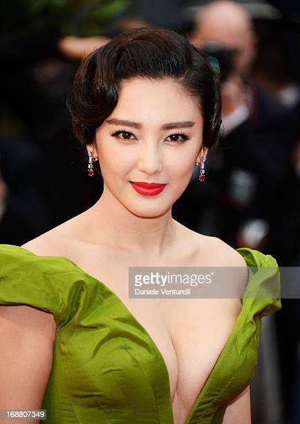 Zhang Yuqi attends the Opening Ceremony and premiere of 'The Great Gatsby' during the 66th Annual Cannes Film Festival at Palais des Festivals on May...