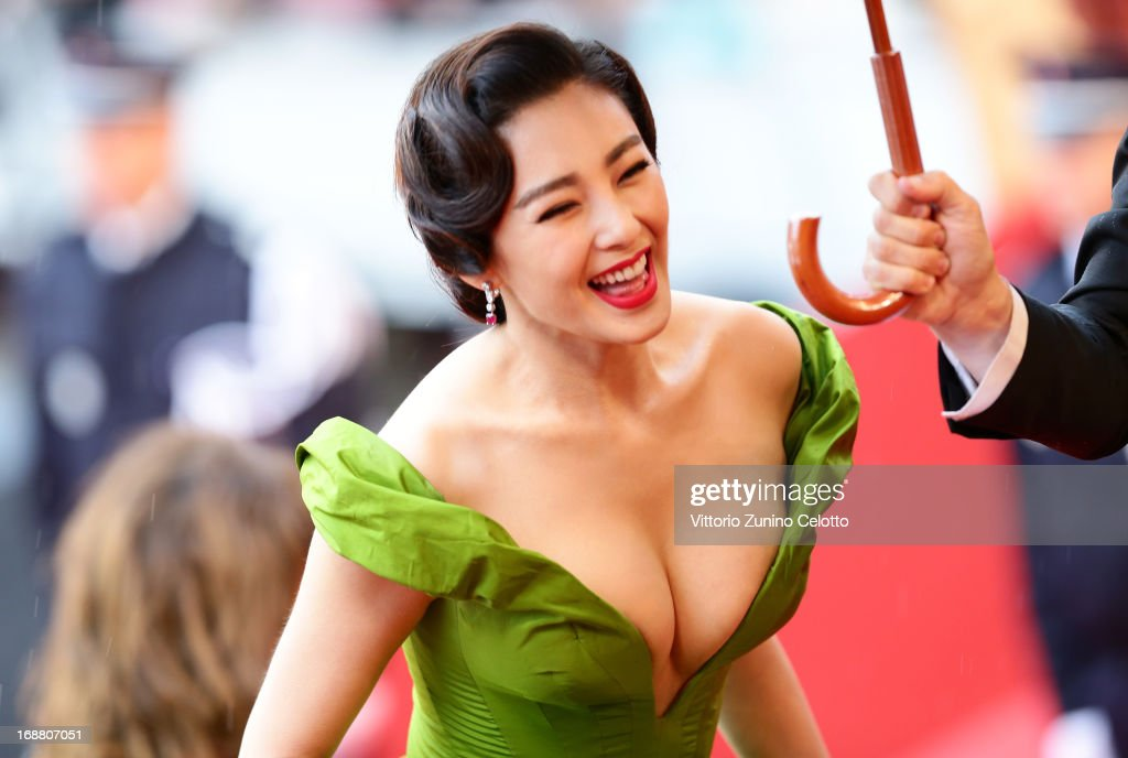 Zhang Yuqi attends the Opening Ceremony and 'The Great Gatsby' Premiere during the 66th Annual Cannes Film Festival at the Theatre Lumiere on May 15, 2013 in Cannes, France.