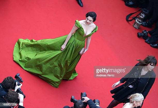 Zhang Yuqi attends the Opening Ceremony and 'The Great Gatsby' Premiere during the 66th Annual Cannes Film Festival at the Theatre Lumiere on May 15...
