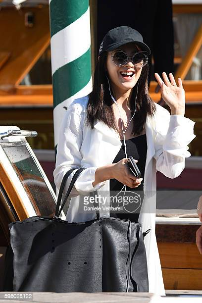 Zhang Yuqi is seen during the 73rd Venice Film Festival on August 31 2016 in Venice Italy