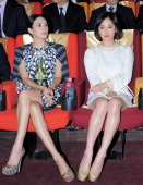 Zhang Ziyi and Song HyeKyo attend 2013 Chinese Film Festival Opening Ceremony at Yeouido CGV on June 16 2013 in Seoul South Korea