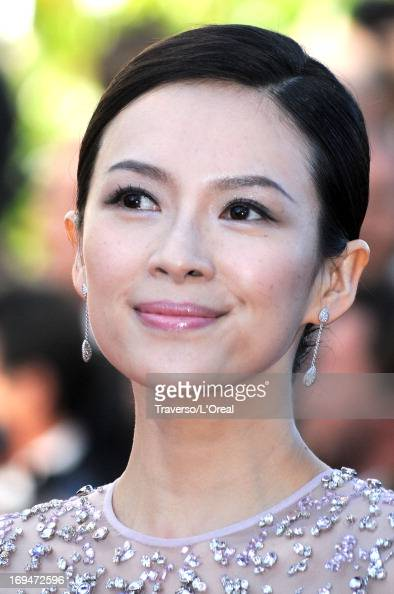 Zhang Ziyi arrives at 'Venus In Fur' Premiere during the 66th Annual Cannes Film Festival at Grand Theatre Lumiere on May 25 2013 in Cannes France