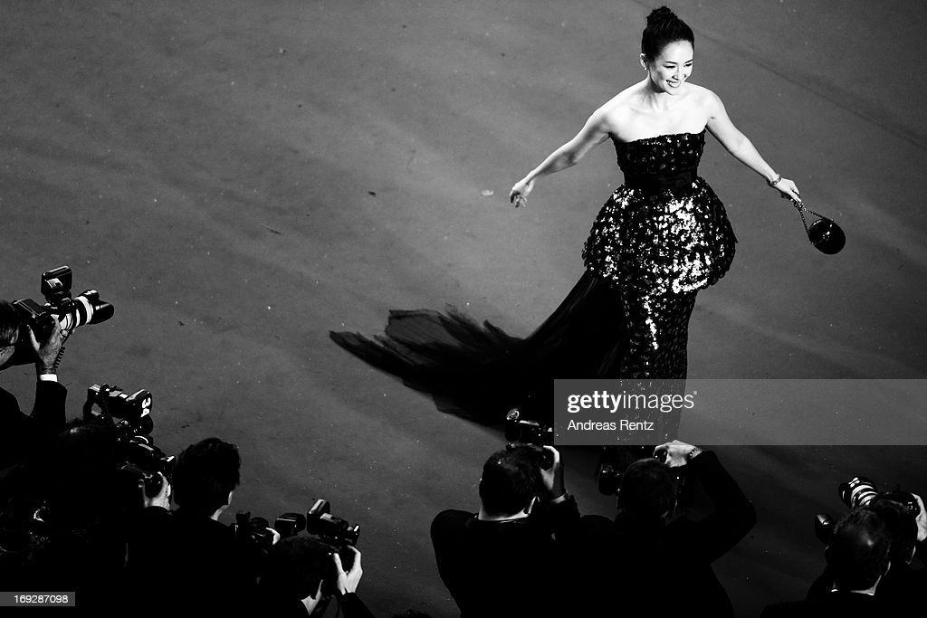 Zhang Ziyi attends the 'All Is Lost' Premiere during the 66th Annual Cannes Film Festival at Palais des Festivals on May 22, 2013 in Cannes, France.