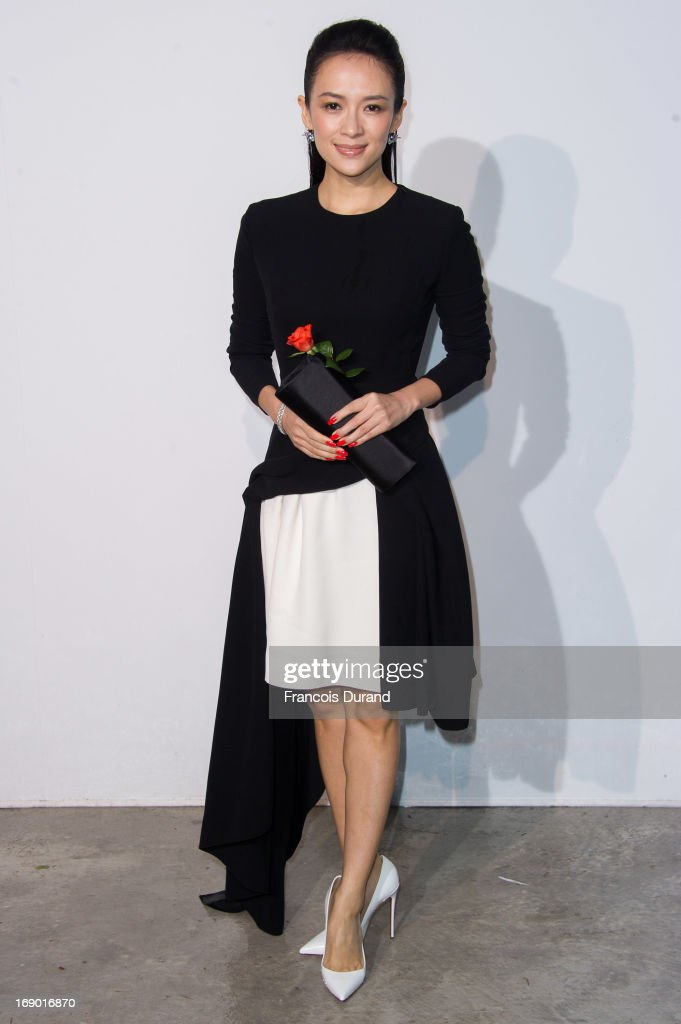 Zhang Ziyi attends the Dior Cruise Collection 2014 on May 18, 2013 in Monaco, Monaco.