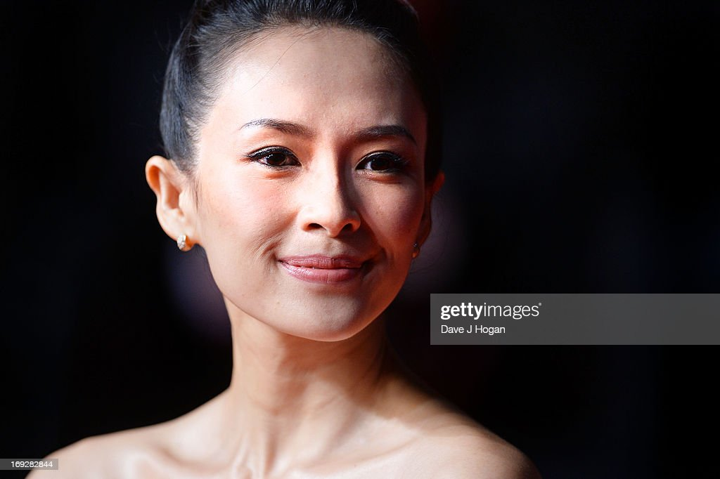 <a gi-track='captionPersonalityLinkClicked' href=/galleries/search?phrase=Zhang+Ziyi&family=editorial&specificpeople=172013 ng-click='$event.stopPropagation()'>Zhang Ziyi</a> attends the 'Only God Forgives' Premiere during the 66th Annual Cannes Film Festival at Palais des Festivals on May 22, 2013 in Cannes, France.