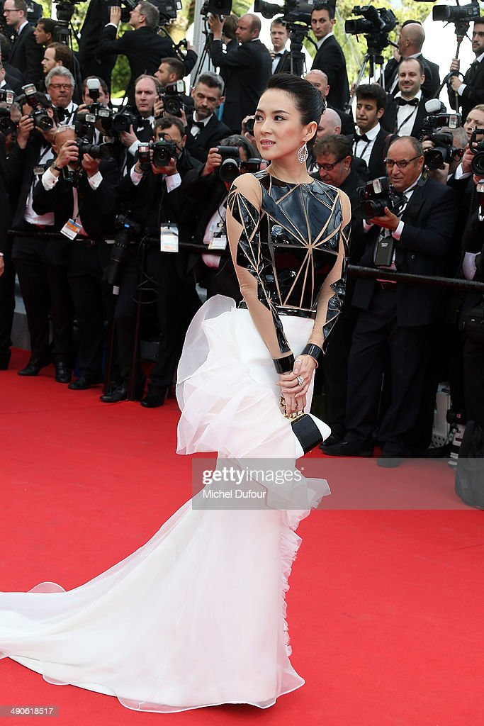 Zhang Ziyi attends the Opening ceremony and Premiere of 'Grace of Monaco' at the 67th Annual Cannes Film Festival on May 14, 2014 in Cannes, France.