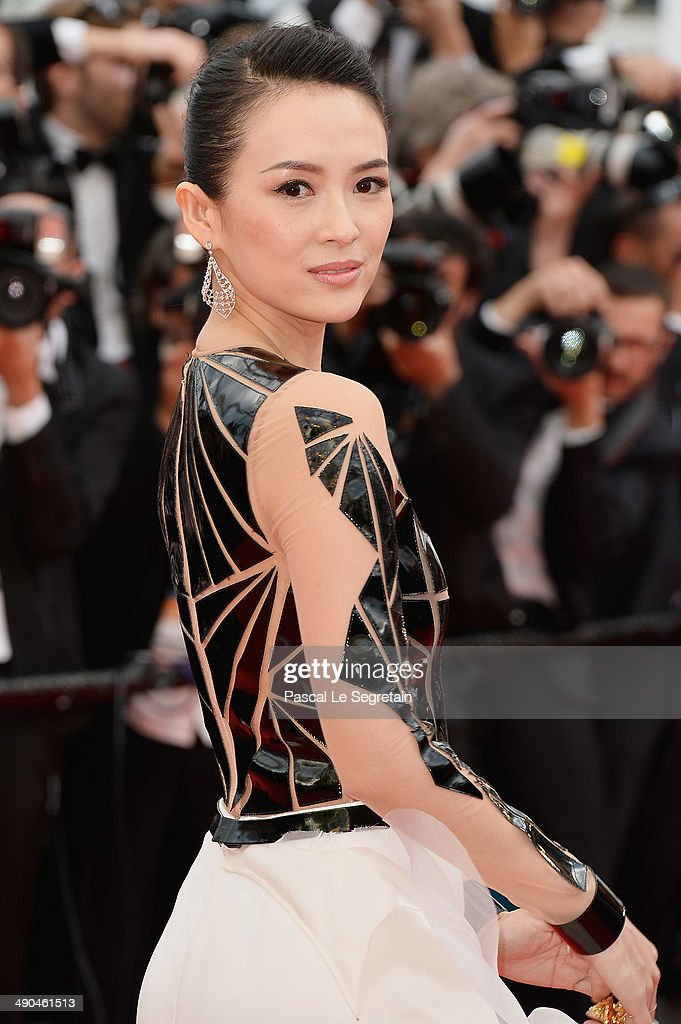 Zhang Ziyi attends the Opening Ceremony and the 'Grace of Monaco' premiere during the 67th Annual Cannes Film Festival on May 14, 2014 in Cannes, France.