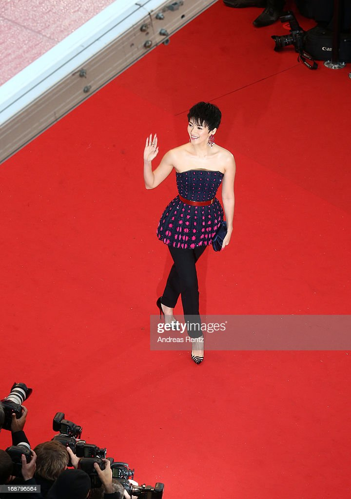 Zhang Ziyi attends the Opening Ceremony and 'The Great Gatsby' Premiere during the 66th Annual Cannes Film Festival at the Theatre Lumiere on May 15, 2013 in Cannes, France.