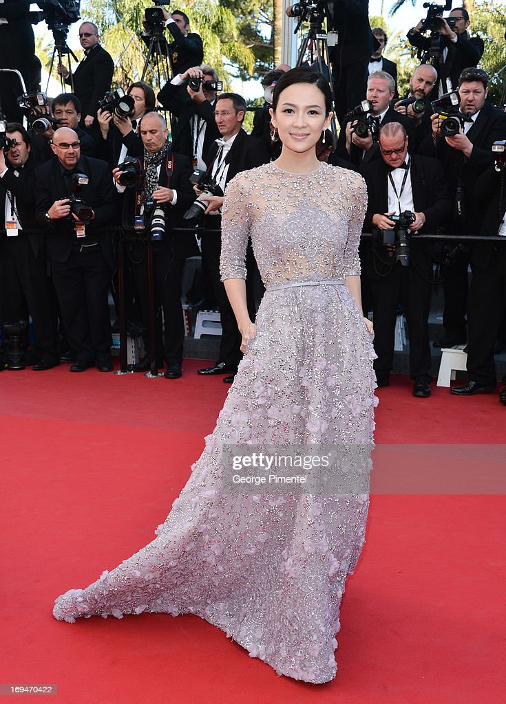 Zhang Ziyi attends the Premiere of 'La Venus A La Fourrure' at The 66th Annual Cannes Film Festival on May 25, 2013 in Cannes, France.