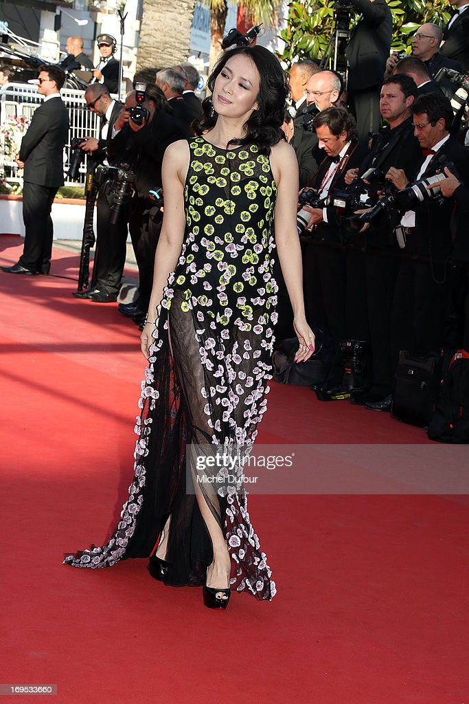 Zhang Ziyi attends the 'Zulu' Premiere and Closing Ceremony during the 66th Annual Cannes Film Festival at the Palais des Festival on May 26, 2013 in Cannes, France.