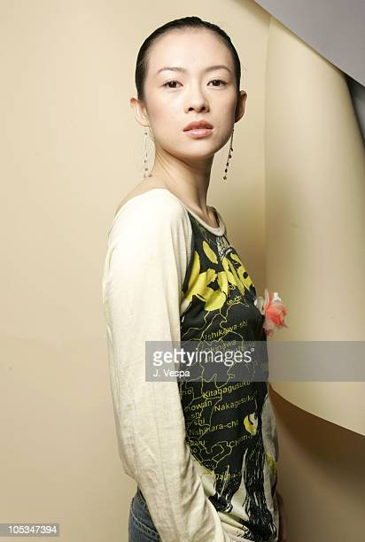 Zhang Ziyi during 2004 Toronto International Film Festival 'House of Flying Daggers' Portraits at Intercontinental in Toronto Ontario Canada