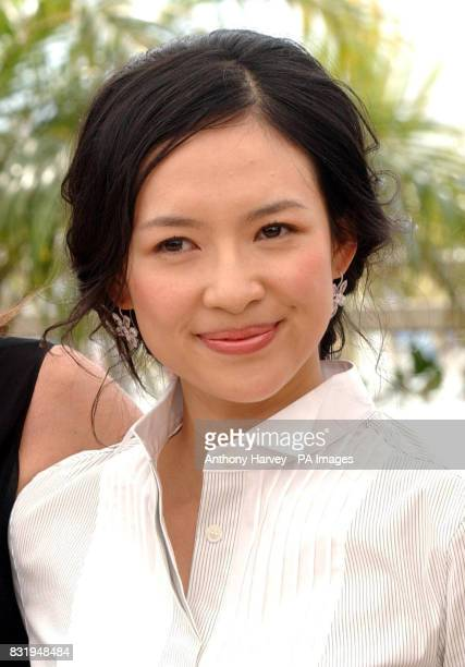 Zhang Ziyi poses for photographers during the photocall for the Cannes Jury in the Palais du Festival Cannes