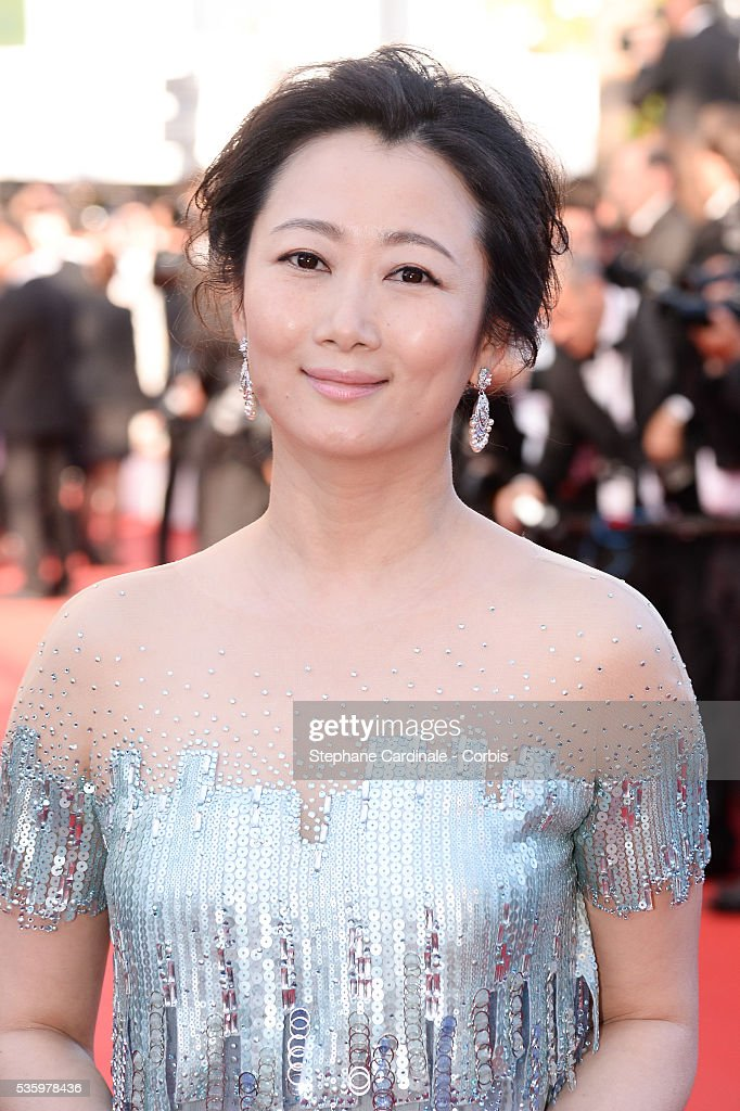 Zhao Tao at the Closing ceremony and 'A Fistful of Dollars' screening during 67th Cannes Film Festival
