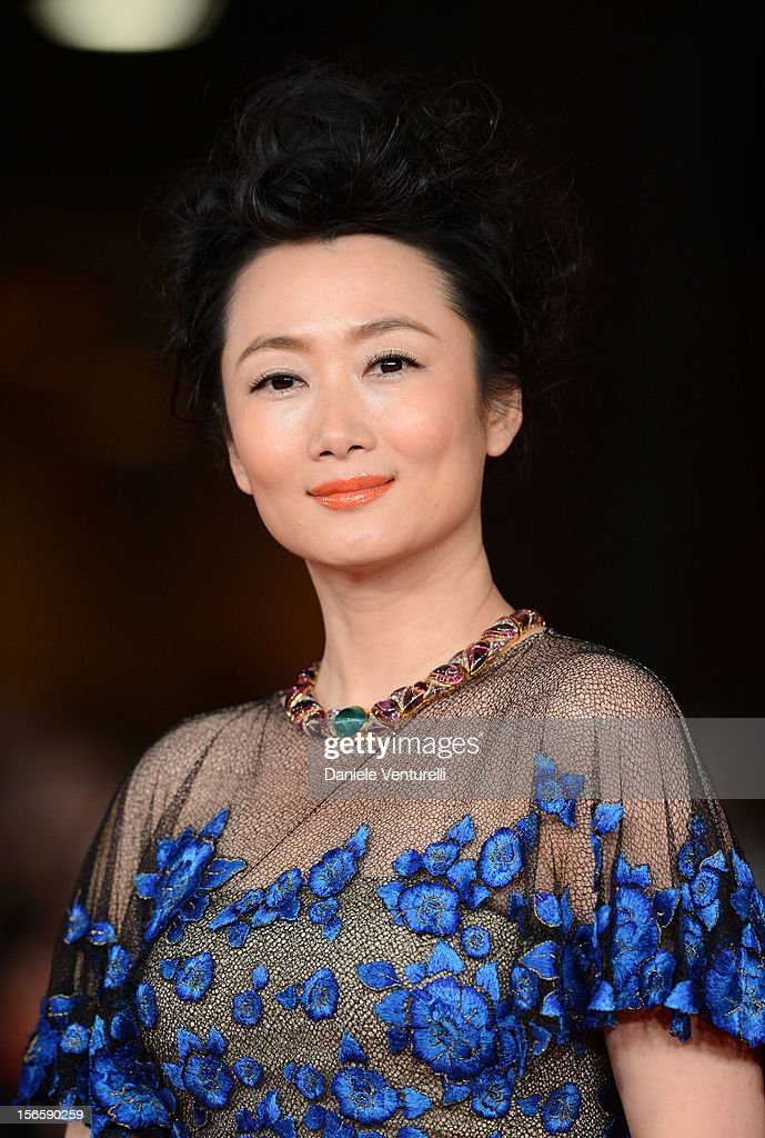 Zhao Tao attends the Closing Ceremony Red Carpet during the 7th Rome Film Festival at the Auditorium Parco Della Musica on November 17, 2012 in Rome, Italy.
