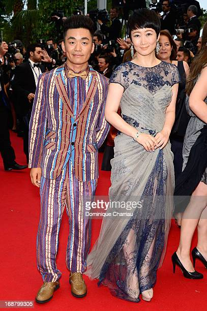Zhao Tao attends the Opening Ceremony and premiere of 'The Great Gatsby' during the 66th Annual Cannes Film Festival at Palais des Festivals on May...